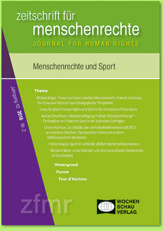 Article on Human Rights and Sport
